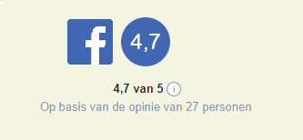 Zie alle facebook reviews